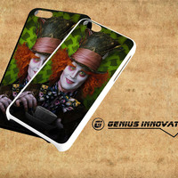 The Mad Hatter Alice in Wonderland Samsung Galaxy S3 S4 S5 Note 3 , iPhone 4(S) 5(S) 5c 6 Plus , iPod 4 5 case