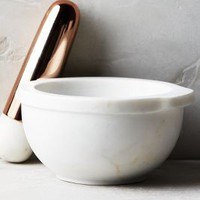 Marble Mortar & Pestle by Anthropologie White Mortar & Pestle Kitchen