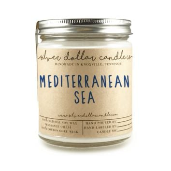 Mediterranean Sea - 8oz Soy Candle