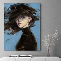 Wall art Picture canvas painting home deor abstract  figure Wall Picture print on canvas for living room Art Decoration No Frame