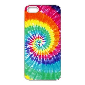 Generic Tie Dye TPU Back Case Cover for Iphone 5 5s