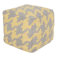 Holly Pouf YELLOW/GRAY