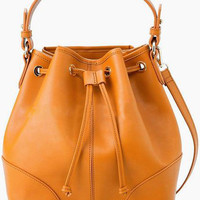 Brown Fall Fashion Bucket Bag