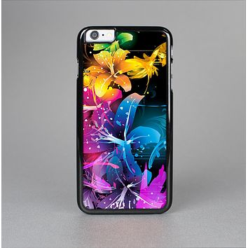 The Magical Glowing Floral Design Skin-Sert for the Apple iPhone 6 Plus Skin-Sert Case