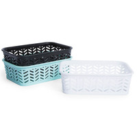 small zig zag storage basket | Five Below