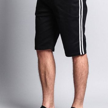 Men's Shorts with Stripes DS2036 - F15E
