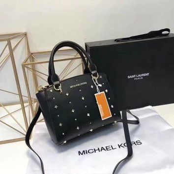 DCCK Michael Kors 2018 counters new chain rivets Messenger hand-held dumpling bag
