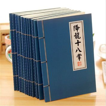 1pcs China Blank Paper Notebook Notepad Journal Diary Sketchbook kungfu Book Office School Supplies
