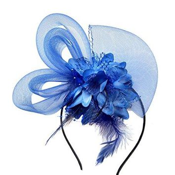 Coolr Fascinator Hair Clip Cocktail Headwear Flower Bridal Headpieces