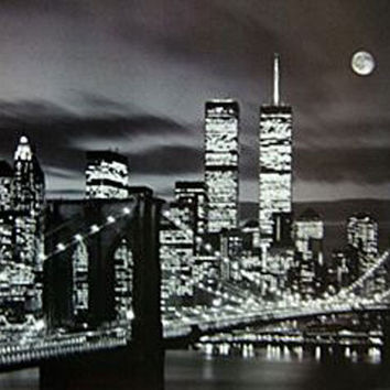 New York City WTC Poster