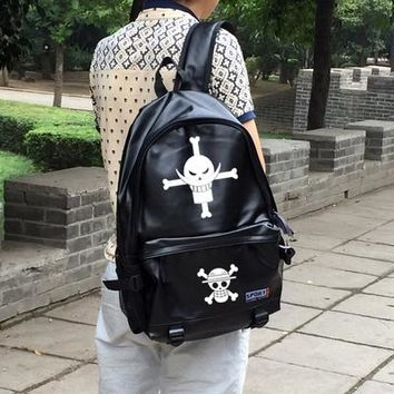 Japanese Anime Bag  One Piece Cosplay Fashion casual large backpack men and women backpack AT_59_4