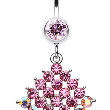 Sparkle Delight Belly Button Ring
