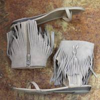 Lex Fringe Sandal by VERY VOLATILE {Taupe}