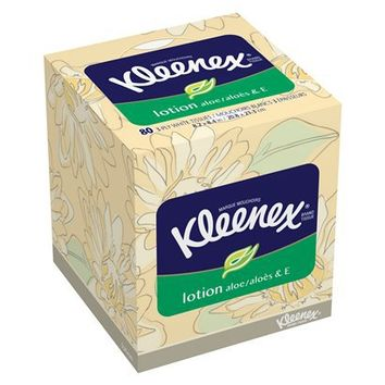 Kleenex Tissues with Lotion 75 count