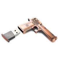Amazon.com: High Quality 8 GB Metal Gun USB Flash Memory Drive: Computers & Accessories