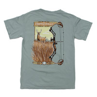 Hunting Bow Deer Tee in Bay by Fripp & Folly