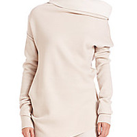 Donna Karan - Asymmetrical Mockneck Sweater - Saks Fifth Avenue Mobile