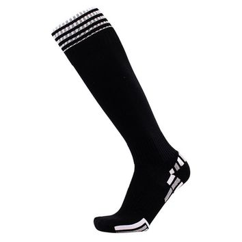 Soft Towel Bottom High Tube Socks Breathable Male non - slip Sports Soccer Socks