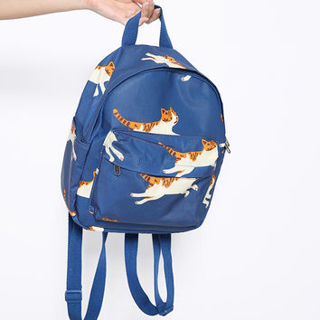 Mini Flying Kitties Backpack by TYAKASHA