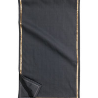 H&M - Cotton Table Runner - Charcoal gray