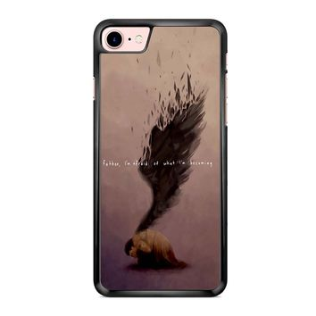 Supernatural Castiel Quote iPhone 7 Case