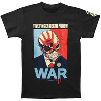 Five Finger Death Punch Men's  War T-shirt Black