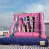 Adult Inflatable Velcro Wall for commercial use B6006,View inflatable velcro wall,BIKIDI Product Details from Biki Industrial Co., Ltd. (Xiamen) on Alibaba.com