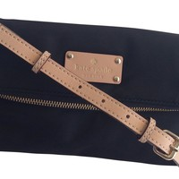 Kate Spade Kennedy Park Aleah Nylon Crossbody Black