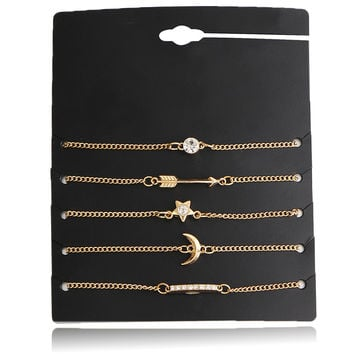 Hot Sale Great Deal Shiny New Arrival Gift Awesome Crystal Set Stylish Simple Design Bracelet [10794298247]
