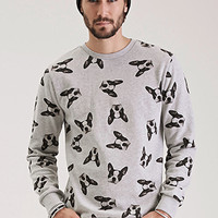 Boston Terrier Print Sweatshirt