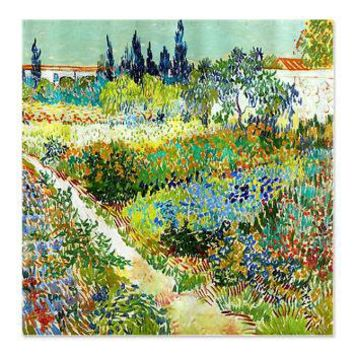 Van Gogh Flower Garden Poppy Shower Curtain> Coastal, Vintage and Urban Chic Shower Curtains> Rebecca Korpita Coastal Design