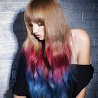 1 STICK - Choose your color - Temporary Hair Color - Ombre Hair Dying - Hair Chalking