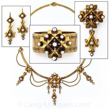 French Victorian Suite - Victorian Jewelry - Shop for Jewelry