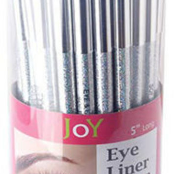 Eye Liner with Cap: Black - Counter Display Case Pack 96