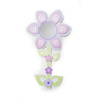 "Babies""R""Us Mirror Baby Girl Flower Wall Decor"