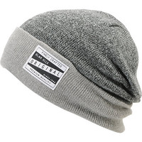 Glamour Kills Watchout Grey & Black Cuff Beanie
