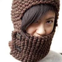 Knittles Wooly Helm Knit Armor Collection by knittles on Etsy