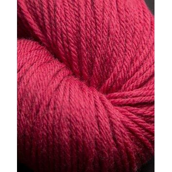 Jagger Spun Super Lamb 4/8 Worsted Weight Cone - Cranberry