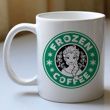 frozen elsa coffee -custom and personalized mug, ceramics mug and cup