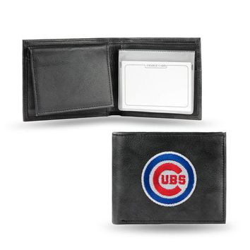 MLB Chicago Cubs Leather Billfold FREE SHIPPING!