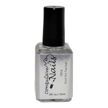 Compulsive Nails Ultra Quick Drying Nail Polish Top Coat