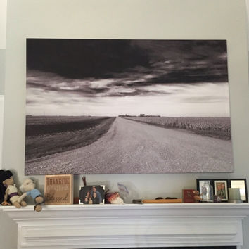 Storm Road  40 x 60 Canvas Print