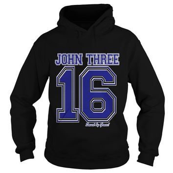 John 3 16 Christian Religious Salvation Gospel Bible shirt Hoodie