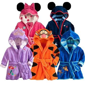 Baby Sleepwear Children Clothing Pajama Sets Cotton Baby Girl Clothes Winter Baby Robe Boy Clothes Infant Jumpsuits