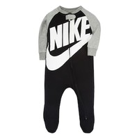 Baby Boy Nike Futura Black Footed Coverall | null