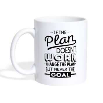 Change the Plan Motivational Mug
