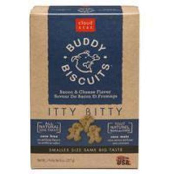 LMFYN5 Cloud Star Itty Bitty Buddy Biscuits Bacon & Cheese 8 oz.