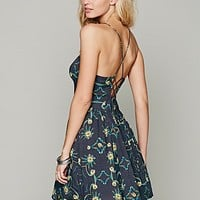 Free People Womens Handkerchief Halter Dress