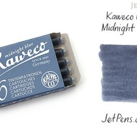 JetPens.com - Kaweco Midnight Blue Ink - 6 Cartridges