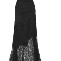 Nina Ricci - Strapless lace gown